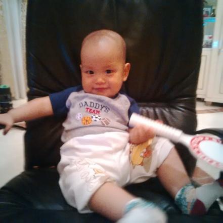 James 8,5 bulan